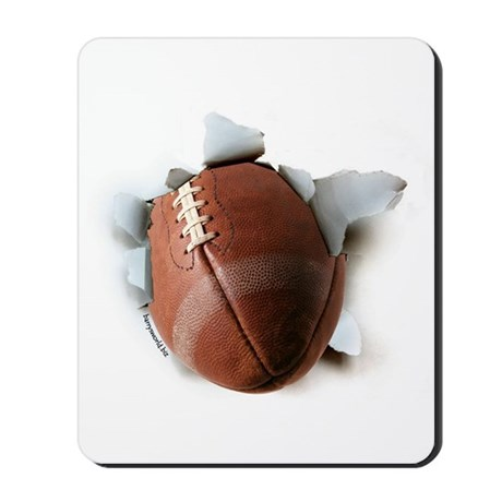 Football Burster Mousepad