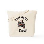 Just Gotta Scoot Blur Tote Bag