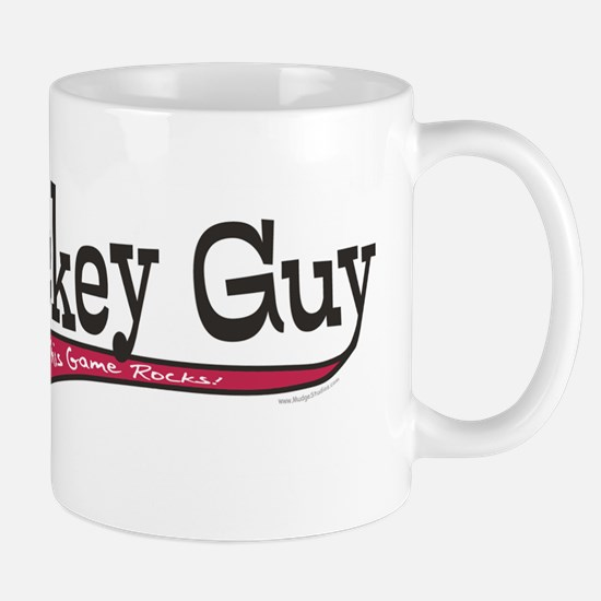 Hockey Guy Cartoon Mug
