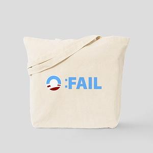 Anti-Obama O:FAIL Tote Bag