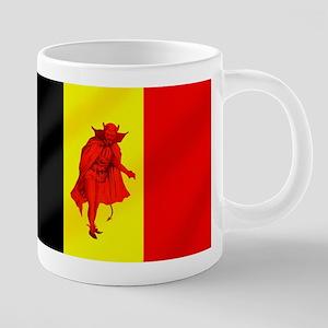 Belgian Red Devils 20 oz Ceramic Mega Mug
