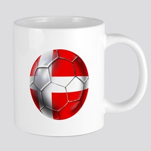 Danish Football 20 oz Ceramic Mega Mug