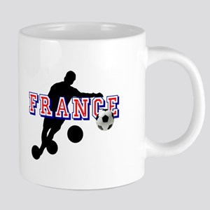 French Football Player 20 oz Ceramic Mega Mug