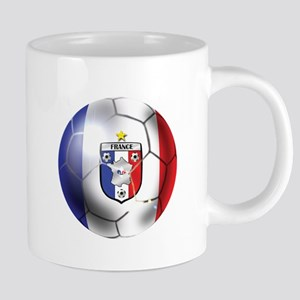 French Soccer Ball 20 oz Ceramic Mega Mug