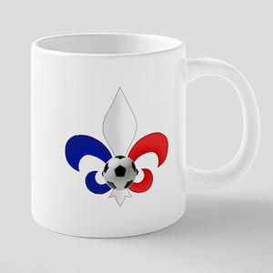 French Fleur de Lis 20 oz Ceramic Mega Mug