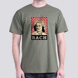 Pop Art Bach Dark T-Shirt