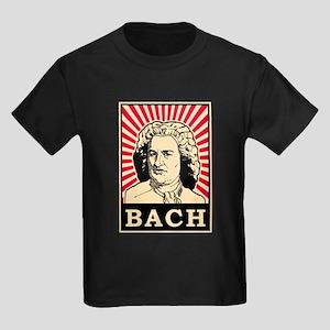 Pop Art Bach Kids Dark T-Shirt