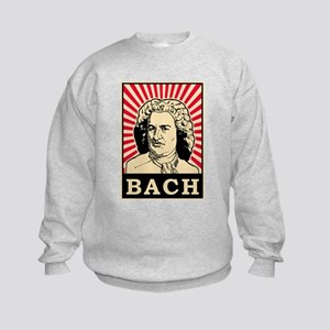 Pop Art Bach Kids Sweatshirt