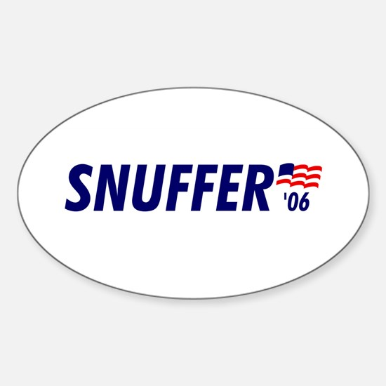 Snuffer 06 Oval Decal