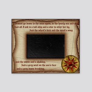 hHvest Moons Compass Rose Picture Frame