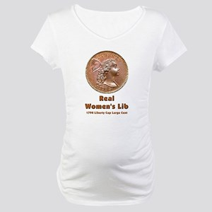 Real Women's Lib Maternity T-Shirt