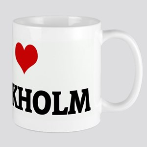 I Love STOCKHOLM Mug