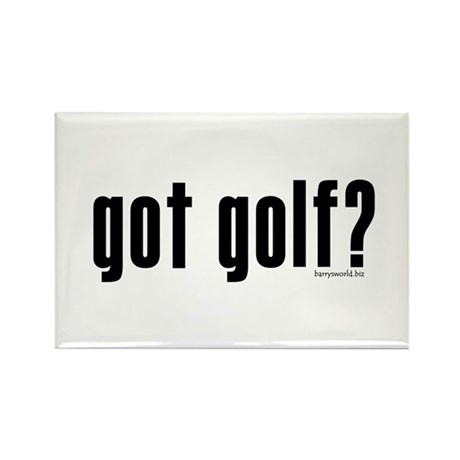got golf? Rectangle Magnet (100 pack)