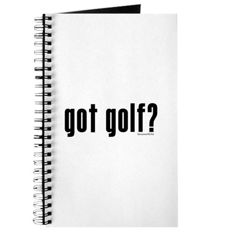 got golf? Journal