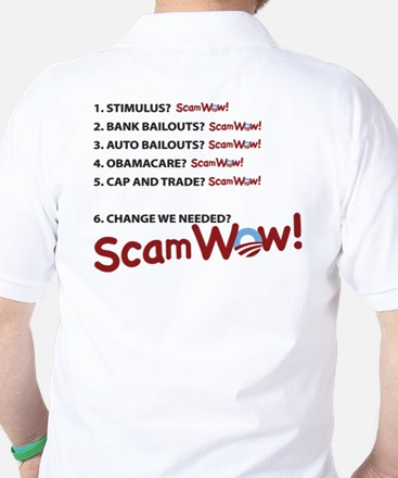 ScamWow List Golf Shirt