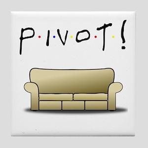 Friends Ross Pivot! Tile Coaster