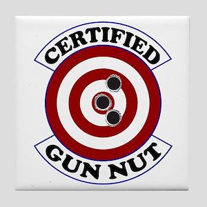 Certified Gun Nut Tile Coaster