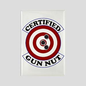 Certified Gun Nut Rectangle Magnet