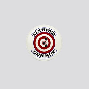 Certified Gun Nut Mini Button