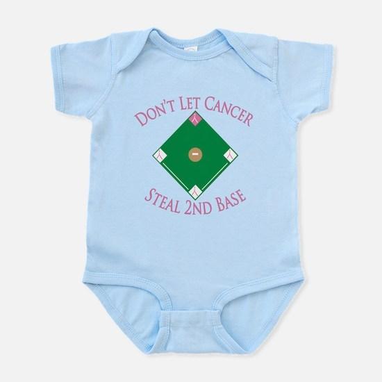 Cancer Steal 2nd Base Infant Bodysuit