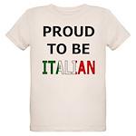 Proud to be Italian Organic Kids T-Shirt
