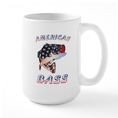 American Bass Large Mug
