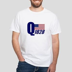 John Quincy Adams White T-Shirt