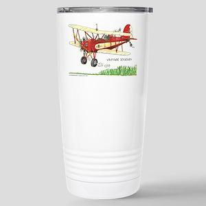 Vintage Journey Stainless Steel Travel Mug