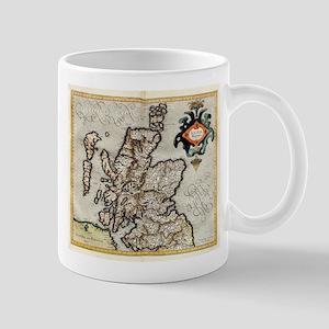 Vintage Map of Scotland (1596) Mugs
