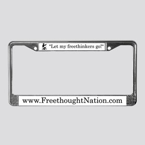 Emancipation License Plate Frame