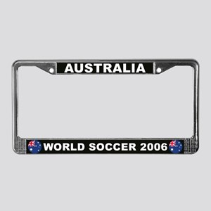 Australia World Cup Soccer License Plate Frame