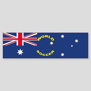 Australia World Cup Soccer Bumper Sticker