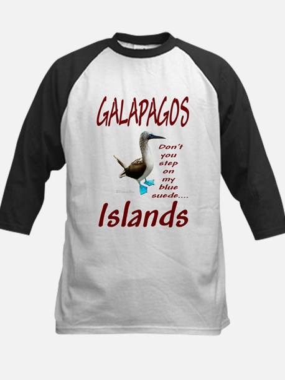 Galapagos Islands-Kids Baseball Jersey