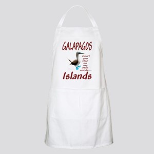 Galapagos Islands-BBQ Apron
