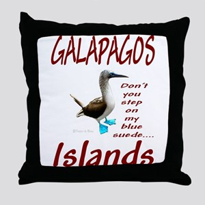 Galapagos Islands-Throw Pillow