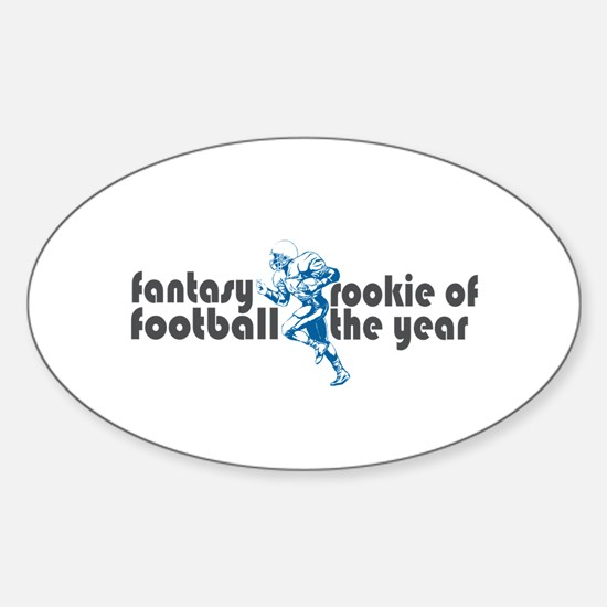 Fantasy Football Rookie Oval Decal