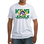 King of the Jungle Fitted T-Shirt