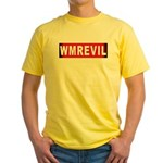 WMREVIL Yellow T-Shirt