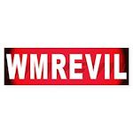 WMREVIL Bumper Sticker