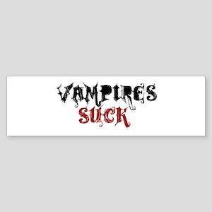 Vampires Suck Bumper Sticker