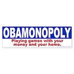 OBAMONOPLY (Bumper Sticker)