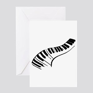 Piano Greeting Card