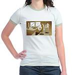The Hedging Hog Jr. Ringer T-Shirt