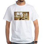 The Hedging Hog White T-Shirt