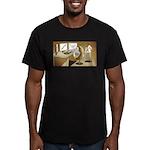 The Hedging Hog Men's Fitted T-Shirt (dark)