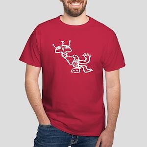 "GLYPH ""Seated Figure"" Dark T-Shirt"