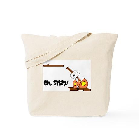 Oh Snap Roasting Marshmallow Tote Bag
