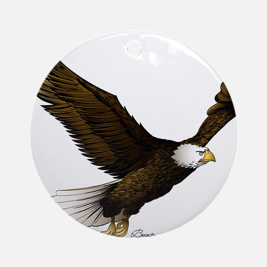 American Eagle Ornament (Round)