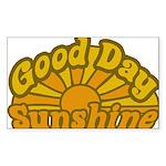 Good Day Sunshine Rectangle Sticker