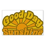 Good Day Sunshine Rectangle Sticker 50 pk)